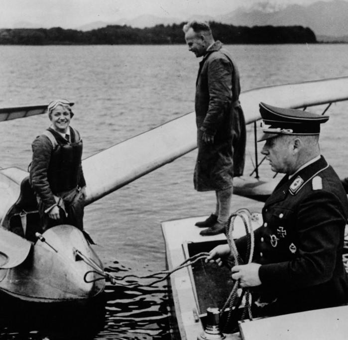 Reitsch med Seeadler fly 1936