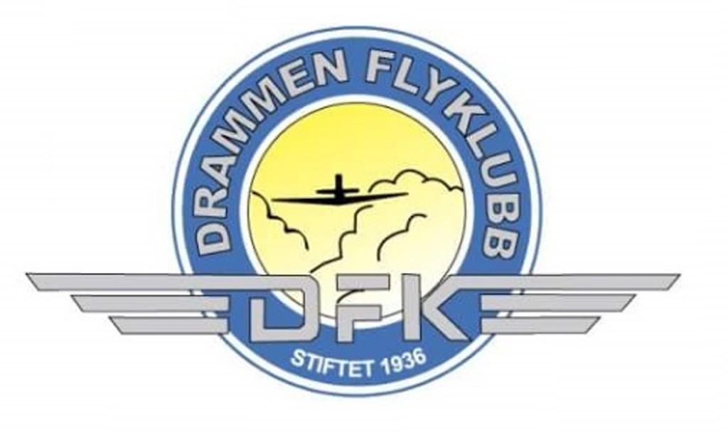 Drammen flyklubb logo