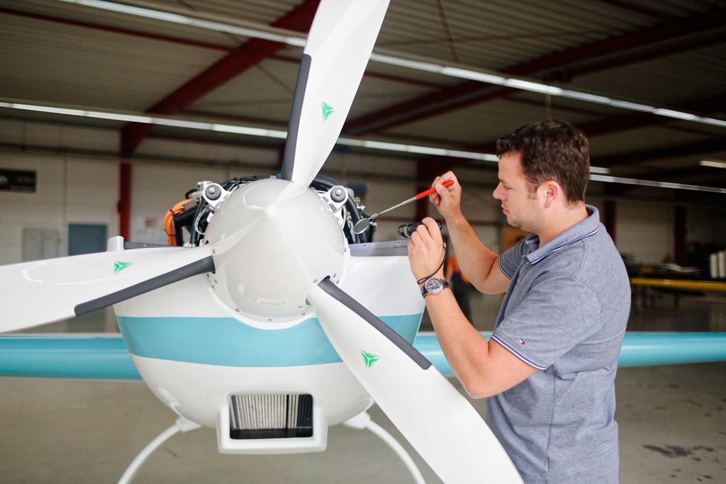 Überprüfung des Antriebssystems / Propulsion system check