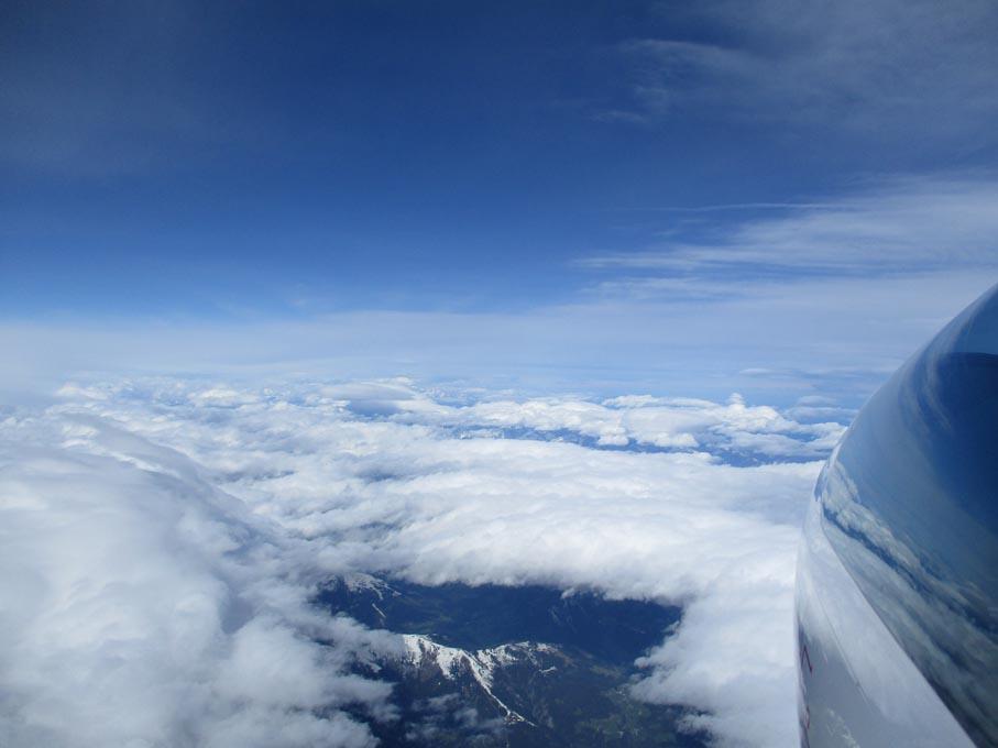 08 Über Hopfgarten Richtung Westen 6800 m