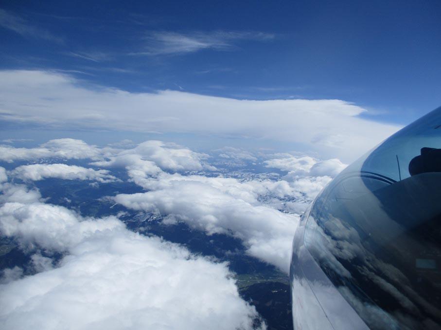 13 Über Wattens Richtung Westn 6200 m